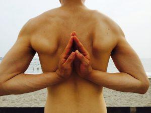田中の肩甲骨です。